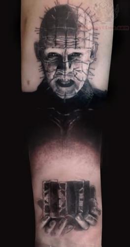 Black-Ink-Pinhead-Tattoo